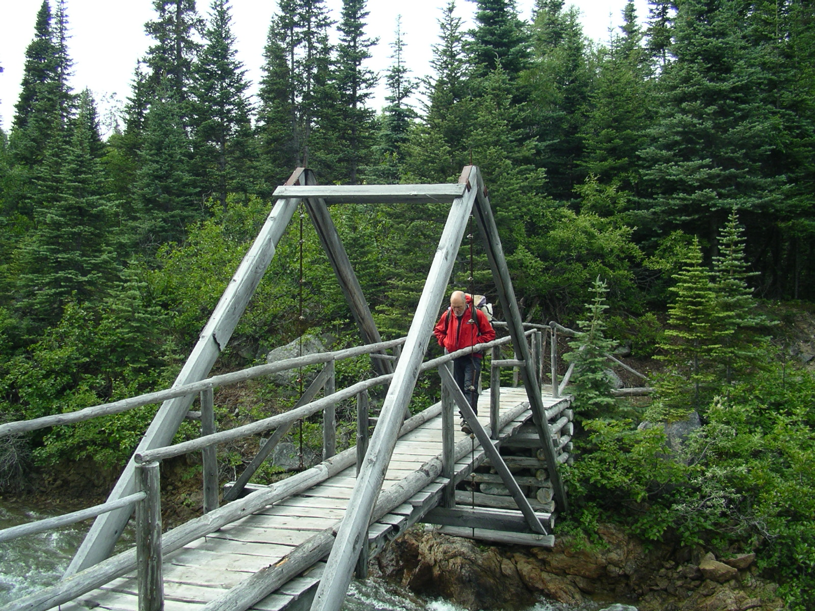 Bridge on the Chilkoot Trail