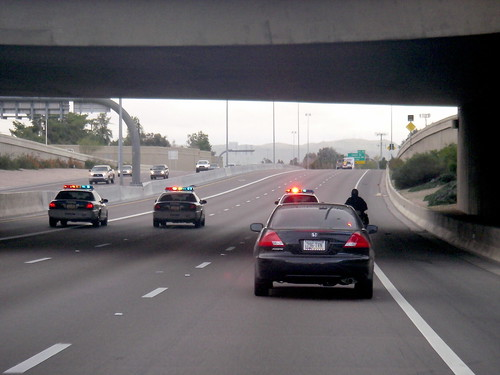 police escorts make commuting much easier it is amazing to flickr. Black Bedroom Furniture Sets. Home Design Ideas