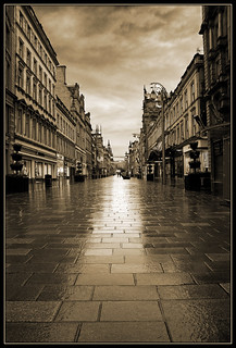 Buchanan St - wet summer evening | by Alistair_Images