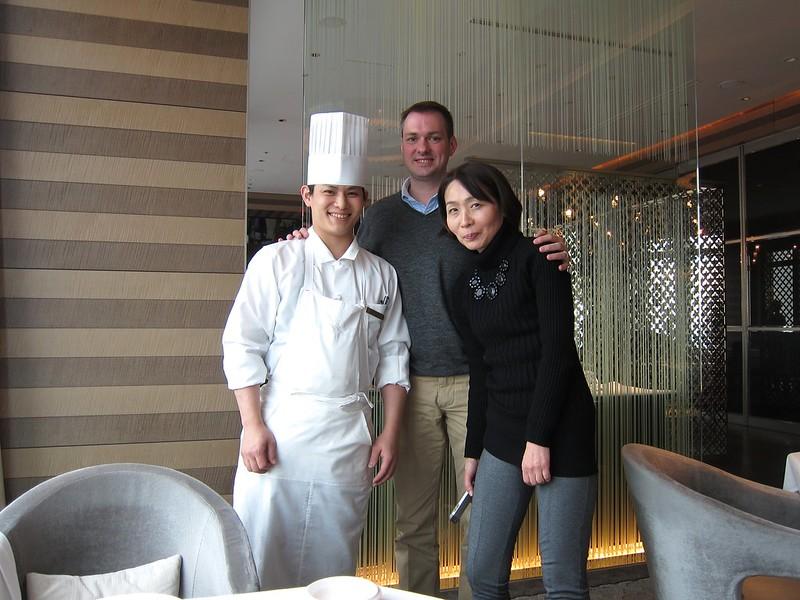 Chefs Syun Hirota, Jeroen van Straten, Sayoko Hokazono