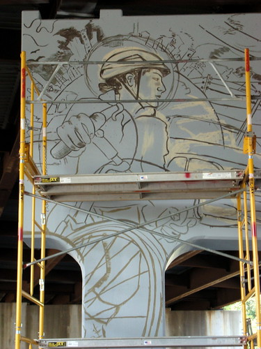 Amp column 5 flickr photo sharing for Asheville mural project