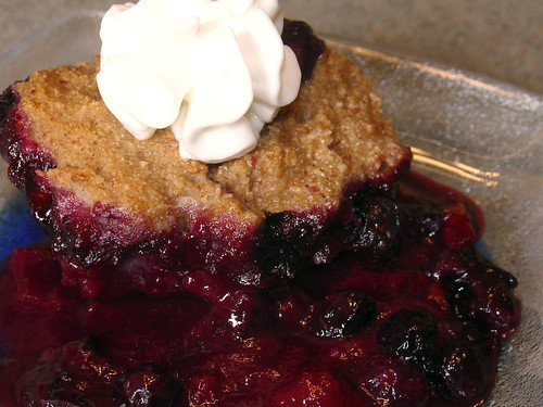 Plum and Blueberry Cobbler | Flickr - Photo Sharing!