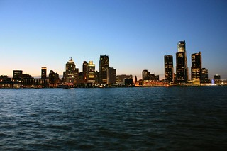 Detroit Skyline | by Sagittariuss