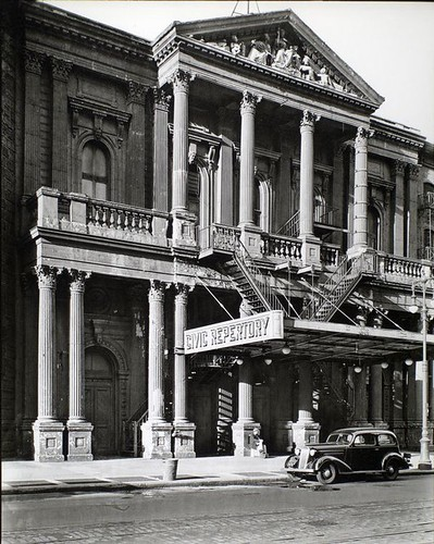 Civic Repertory Theatre, 14th Street West of Sixth Avenue, M... | by New York Public Library