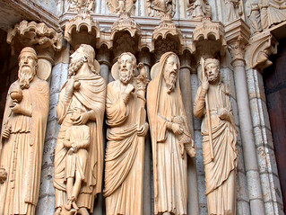 Statues at Chartres Cathedral | by Rozanne Hakala