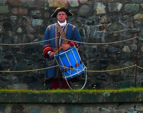Louisbourg Drummer