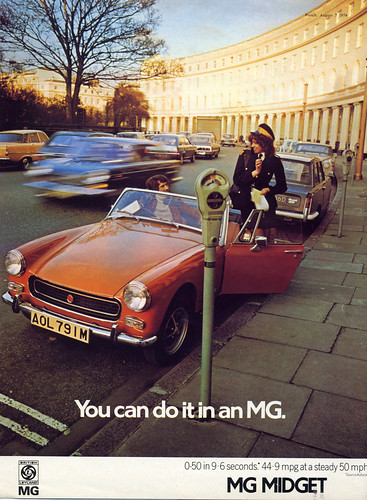 The Car Company >> MG Midget : You can do it! | What coquettes those meter ...