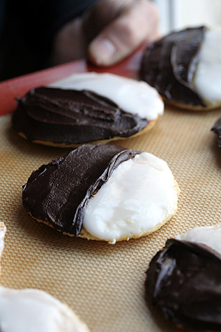 Black & White Cookies | by David Lebovitz