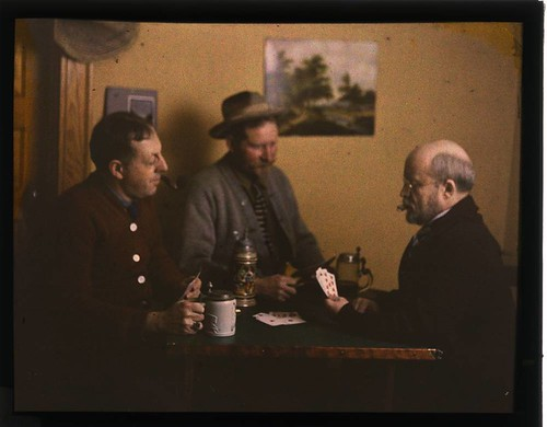 Three men playing cards | by George Eastman House