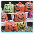 Pumpkin garbage bags | by 24oranges.nl