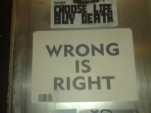 Wrong is right | by lejoe