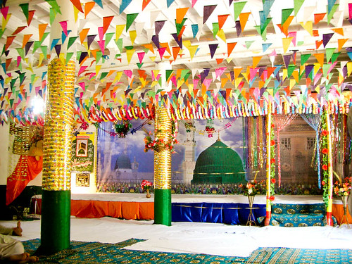 cimg3320 decorations of milad sharif mehfil at mandi