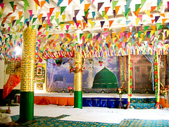 Cimg3320 decorations of milad sharif mehfil at mandi for Decoration 3id milad
