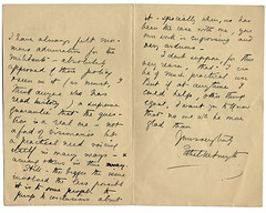 Dame Ethel Mary Smyth letter 2 | by i.minerva luvs Jackson Library