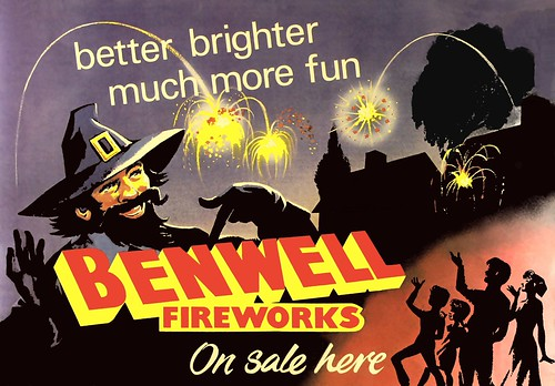 Old Benwell Firework Poster