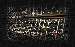 Modular Synthesizer Desktop HDR | by Peter Gorges