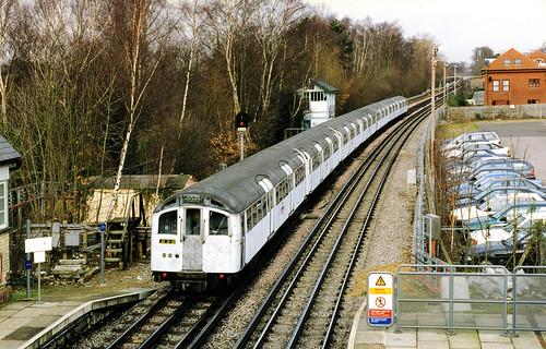 1959 Tube Stock at Woodside Park