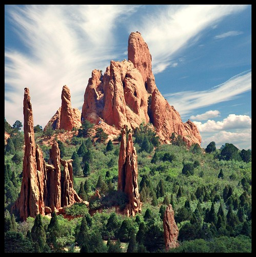 Garden Of The Gods Another Shot From The Garden Of The Go Flickr
