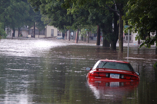 Flooding in Cedar Rapids, IA | by U.S. Geological Survey