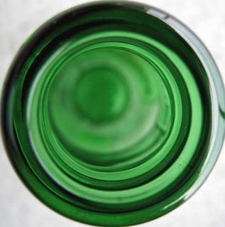 Bird's-eye view on beer bottle | by JsonLind