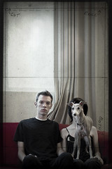 unplanned self-portrait with dog &. | by Jesse Draper
