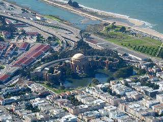 Aerial View - Palace of Fine Arts, San Francisco | by Jill Clardy
