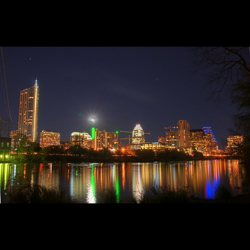 Downtown Austin Skyline | HDR | by Adrian World