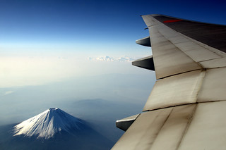 Mt.Fuji & 777-200 | by kanegen