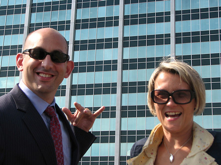 Geoff Livingston and Maggie Fox | by Capitol Communicator