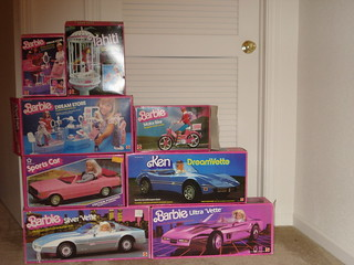 Barbie Cars, Barbie 1984 | by Barbie Creations