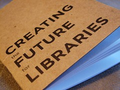 Creating the Future for Libraries blank book | by The Shifted Librarian