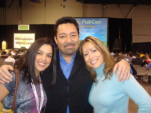 Vanessa Zamora, Joe Morin and Melanie Mitchell | by TopRankMarketing