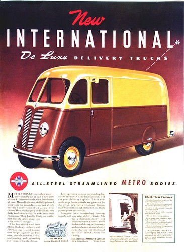 International De Luxe Delivery Trucks | by SA_Steve