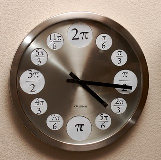 Math Clock | by Laughing Easy