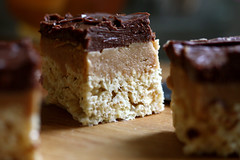 Peanut Butter Fudge Krispy Treats | by joy the baker