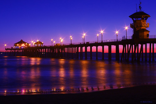 Twilight in Huntington Beach | by Yobs