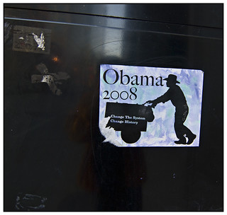 Obama 2008 - Pilsen Paletero | by swanksalot