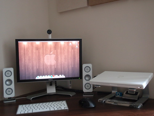 Macbook Desk Setup | by js1stuff