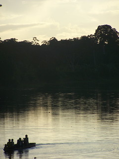Dusk on the Amazon | by The Hungry Cyclist