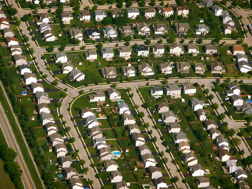Chicago suburbs from the air | by Scorpions and Centaurs