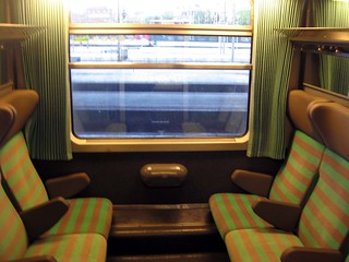 EuroCity Train Curtains | by Sapphireblue