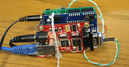 Arduino with Serial-to-Ethernet Gateway 2 | by bpunkt