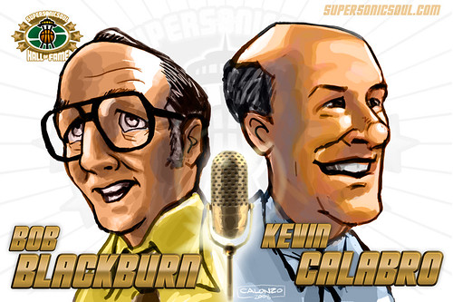 Bob Blackburn & Kevin Calabro | by supersonicsoul