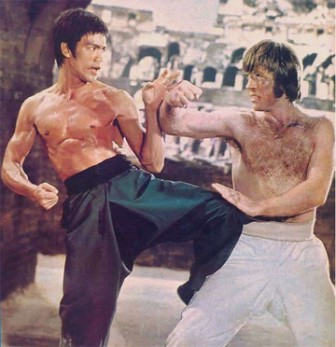 bruce lee beats chuck norris | by greg11373