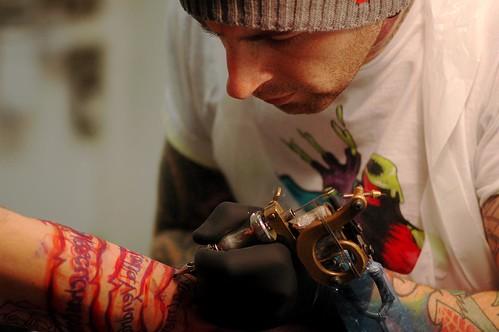 Evolution tattoo studio james gray king flickr for Evolution tattoo studio