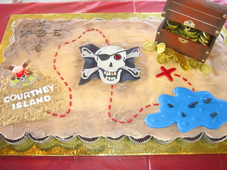 Pirate Pull-Apart Cupcake Cake | by cupcakesnouveau