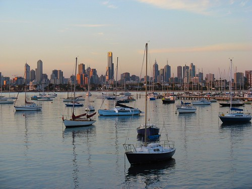 Beautiful Melbourne Skyline from St Kilda | by Dean-Melbourne