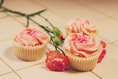 rosy cupcakes | by missnancyelle
