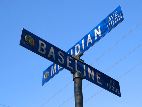 "Baseline and Meridian | by ""Caveman Chuck"" Coker"