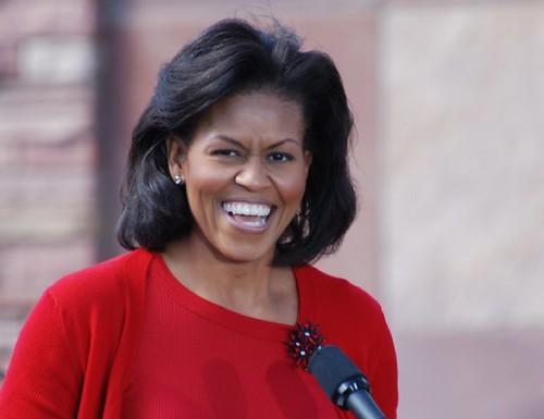 Michelle Obama in Boulder, Colorado | by fairangels